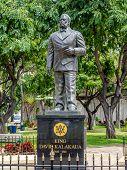 Statue of King Kalakaua