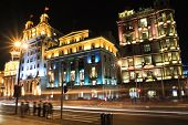 Shanghai Bund European Ancient Buildings Of The Night