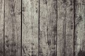 Vintage Stylized Planked Wood Board