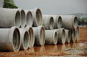 Precast Concrete Pipe Culvert