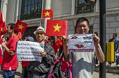 Vietnamese Protesters, London