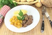 Venison Goulash With Rutabaga