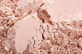 picture of face-powder  - Natural beige face powder texture - JPG