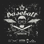 Emblem Baseball Superstar College Team