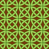 Celtic Pattern Brown