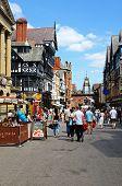 Eastgate shopping street, Chester.