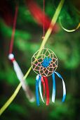 Handmade Dreamcatcher In The Forest