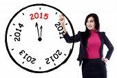 Female Entrepreneur Makes Annual Clock
