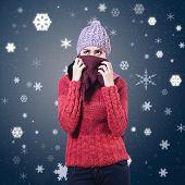 Woman Wearing Winter Clothing