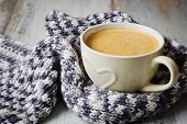 Scarf And Coffee