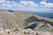 Lake atop of Mount Evans