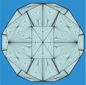 Origami Structure Vector
