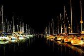 Nacht-marina