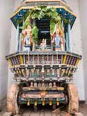 Temple Ratha Cart in South India.