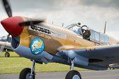 P40 Warhawk Vintage Aircraft