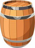 Wooden Barrel.eps