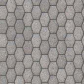 Decorative Gray Pavement Slabs.