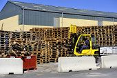 Handling And Storage Of Pallets