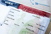 Passport With Blank Usa Visa
