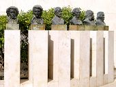 Tel Aviv Busts Of Composers 2011