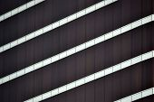 brown glass window