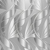 Silver leaf background