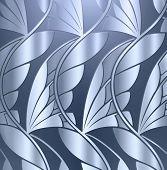 metallic leaf background