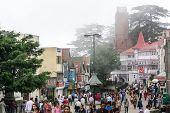 Shimla City In India