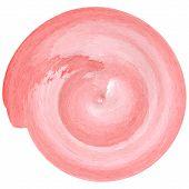 crimson color ink spiral
