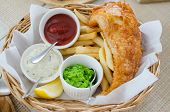 Fish And Chips Set