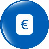 Currency Exchange Sign Icon. Currency Converter Symbol. Money Label
