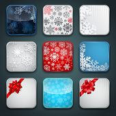 Apps Christmas Icon Set