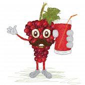 Grapes Fruit Mustache