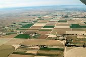 Aerial cropland - horizontal