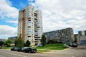 The Concrete House In The Vilnius City