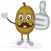 Jackfruit Mustache