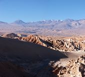 Volcanoes In Atacama Desert, Chile