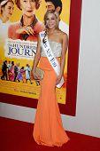 NEW YORK-AUG 4: Beauty queen Kandice Pelletier attends