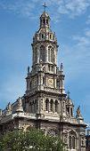 Paris - The Eglise De La Sainte-trinite