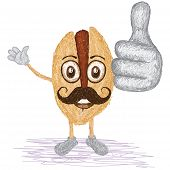 Pistachio Mustache