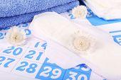 pic of menses  - Sanitary pads - JPG