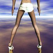 Постер, плакат: Legs