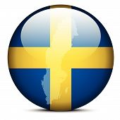 picture of sweden flag  - Vector Image  - JPG
