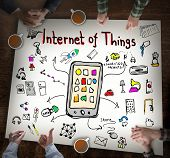 stock photo of seminar  - Internet of Things - JPG
