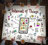 stock photo of household  - Internet of Things - JPG