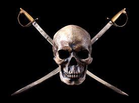 picture of skull crossbones  - A  - JPG