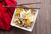 pic of mandarin orange  - chicken and mandarin orange summer salad with toasted almonds - JPG