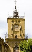 town hall, Aix-en-Provence, Provence, France