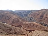 High Mountain Pass On The Moroccan Atlas Mountains, Ouarzazate, Morocco