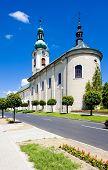 church in Nove Mesto nad Metuji, Czech Republic
